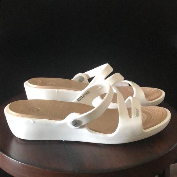 CROCS Shoes - CROCS Patricia Mini Wedge Sz 9